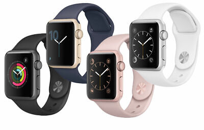 Apple Watch Series 1 Aluminum 38MM - Silver Space Gray Rose Gold | Good B-Grade