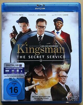 Kingsman - The Secret Service | 2014 | Colin Firth, Michael Caine | Blu-ray