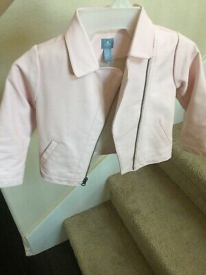 Baby Gap Girl Faux Leather Jacket Pink 4yr