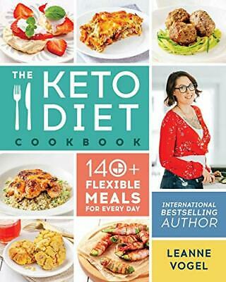 Keto Diet Cookbook by Leanne Vogel New Paperback Book