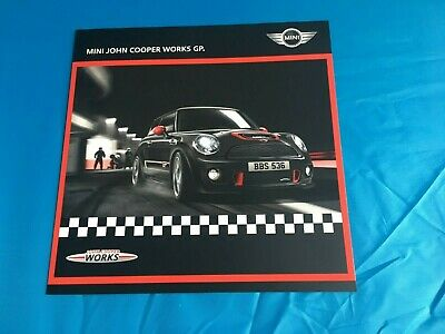 Mini John Cooper Works Gp Brochure 405 Picclick Uk