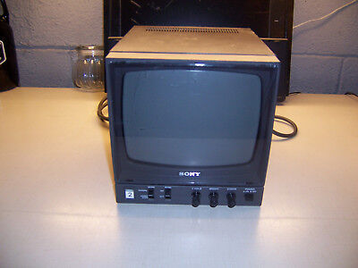 "Sony model PVM-91 Video Monitor, 9"" Screen"