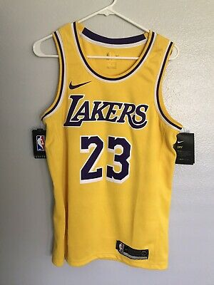 9983fdaef88e Nike LeBron James Icon Edition Swingman Jersey Mens Size - MEDIUM 44 Lakers