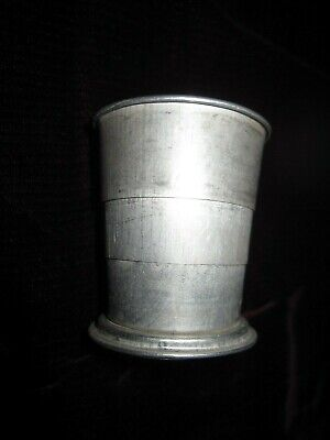 Vintage Collapsible Aluminium Metal Cup