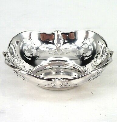 Silver Bowl 1918 Hallmarked Sterling By Levi & Salaman