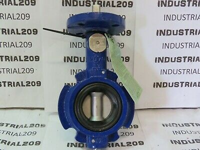 Keystone 60W 2'' Butterfly Valve Body Mat'l Ci New