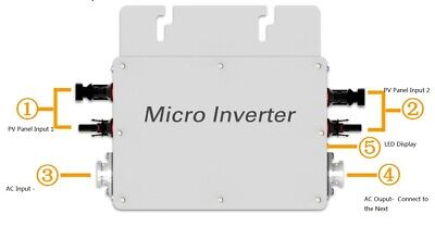 WVC-600W Micro Grid Inverter Line Filter Frequency Solar
