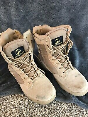 0ba97f4c453 MAELSTROM® LANDSHIP 8'' Military Tactical Police Duty Work Boots ...