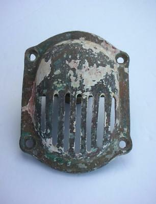 Vintage Brass Raw Water Sea Strainer Thru Hull Intake Screen Wilcox Crittenden?