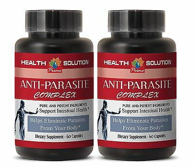 Supports Relaxation After Detox - Anti-Parasite Blend 1485mg - Oregon Grape 2B