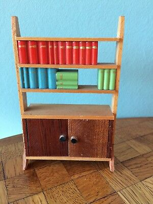 Regal 1966 Lundby Puppenstube Puppenhaus 1:18 dollhouse shelf