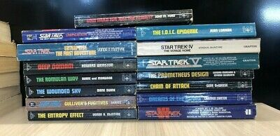 Star Trek Books - Small Collection - Used