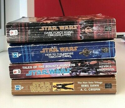 Star Wars Books - Small Collection - Used