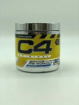 Cellucor C4 Original ID series Pre Workout 30 serv Icy Blue Razz FREE SHIPPING