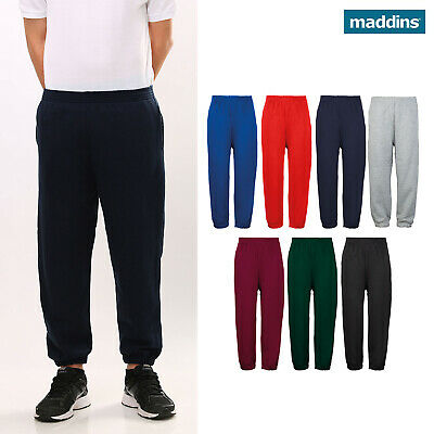 Maddins Kids Coloursure Sweatpants (MD03B) - Sweat Jogging Unisex Trouser