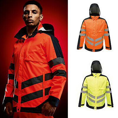 Regatta High Visibility Waterproof Insulated Jacket TRA341 - Orange Colour
