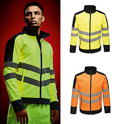 Regatta High Visibility Protected Unisex Pro Softshell Jacket TRA625