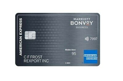 *$50 FROM ME *  Marriott Bonvoy Business American Express AMEX 75k points