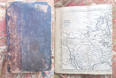 1783 GEOGRAPHICAL HISTORICAL GRAMMAR-PRESENT STATE OF KINGDOMS / WORLD w/18 Maps
