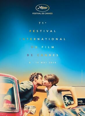 "Cannes Film Festival 2018 Poster International Event 17x29"" 24x42"" Silk Print"