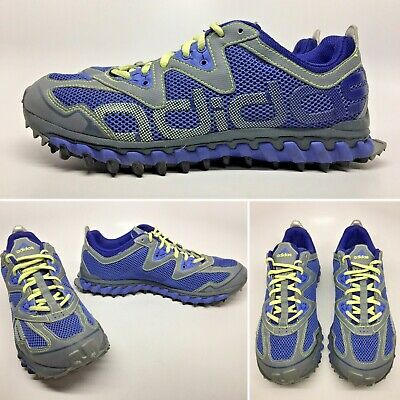 b06bc0b1214e2 2011 ADIDAS Vigor Running Shoes Periwinkle Blue Green Ombre Spell Out Womens  9