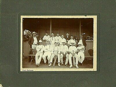 [THIRLMERE, NSW] Cricketers - Photo, Circa 1900s