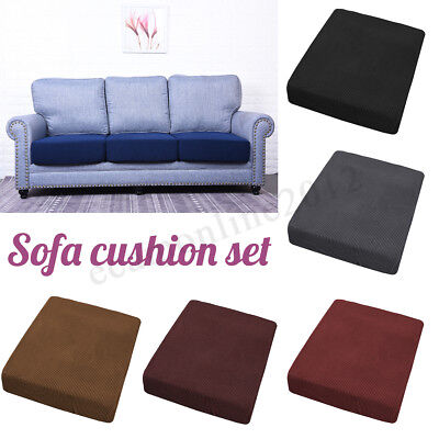 Replacement Sofa Stretchy Seat Cushion Cover Couch Slip covers Protector Fabric