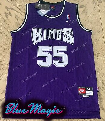 021cea7161f8 New Jason Williams Throwback Swingman Jersey  55 Sacramento Kings Purple  Mens US