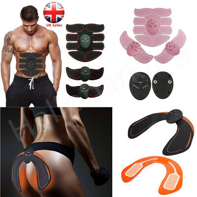 Ultimate Abs Slim Stimulator Abdominal Muscle Hip Trainer Buttock Toning Trimmer
