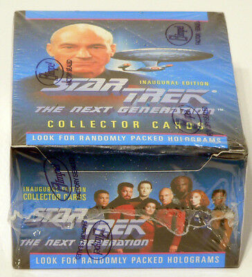 Star Trek The Next Generation Collector Cards - Inaugural Edition - Full Box