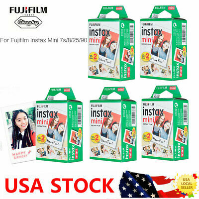 20~100 SHEETS FUJIFILM INSTAX MINI FILM FOR INSTANT PHOTO Mini 7s/8/25/90/9 CAM