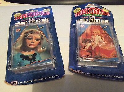 Thunderbirds x 2 bumper starter packs Pro Set Collector Cards1992,FREE POSTAGE!