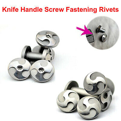 Knife Handle Screw Fastening Rivet Stainless Steel Tactical Knives DIY Material