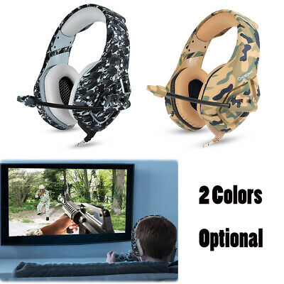ONIKUMA K1 3.5mm Gaming Headsets with Mic Stereo Sound Noise Reduction X5T1