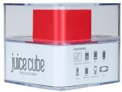 Juice Cube Powerbank+Charger-Mini+Micro USB/Apple 30-pin+6 other connections #F