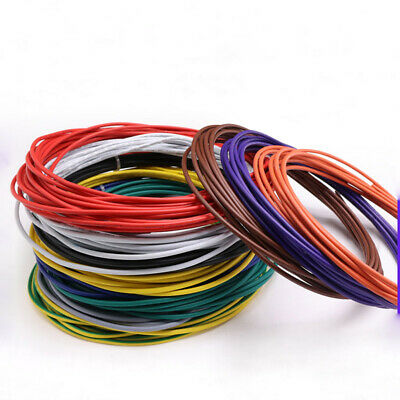 18AWG Flexible Stranded Cable Wire UL1015 PVC Tinned Copper Electronic Wires