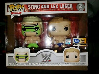 Funko Pop sting & lex luger WWE FYE exclusive 2 pack