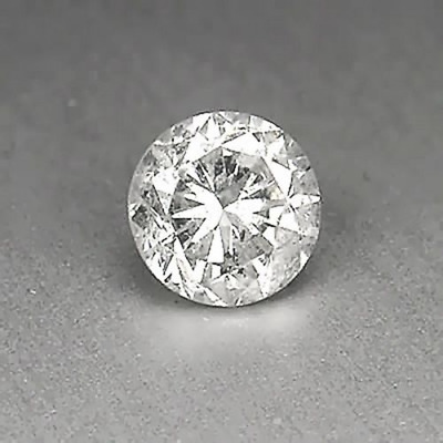 0.15CT Natural White Loose Diamond Brilliant Round Shape With Certificate