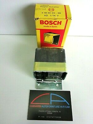 Regolatore Alternatore Bosch 0190601010 Multimarca