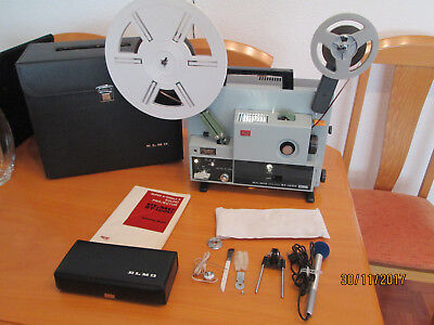 proyector super 8 Elmo 1.200 st magnetico