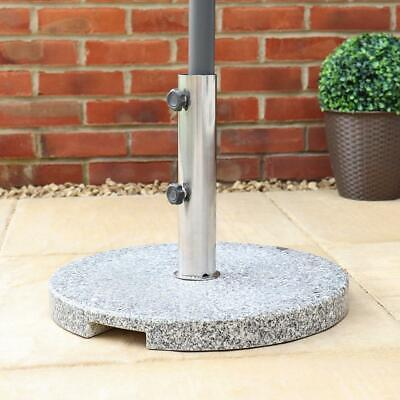 Wido 20Kg Granite Parasol Base Garden Umbrella Furniture Stand Secure Heavy Duty