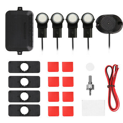 Car Parking Sensors System Parktronics 4pcs Flat Sensors Reverse Backup M6I9