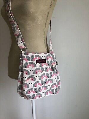 fd4fa17877bd OTTERS BY BUNGALOW 360 -Vegan Small Messenger Bag ~ Shoulder or ...