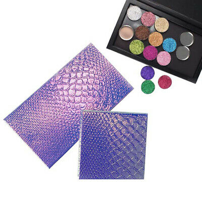 Fish Scale Color Change EmptyMagnetic Makeup Palette DIY Eyeshadow Case HolderXM