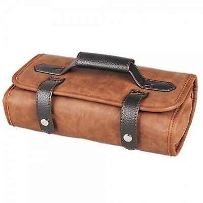 Head Jog Barber Tool Roll Brown