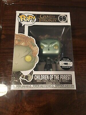 """FUNKO POP! Game of Thrones: Children of The Forest """"METALLIC"""" NYCC 2018 #69 HBO"""