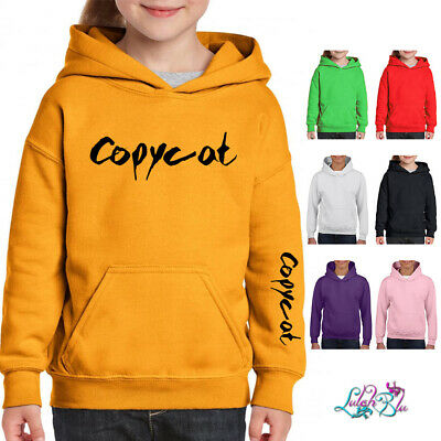 Kids Billie Eilish Inspired Hoodie - COPYCAT - | Singer | Music Hoody | Cool