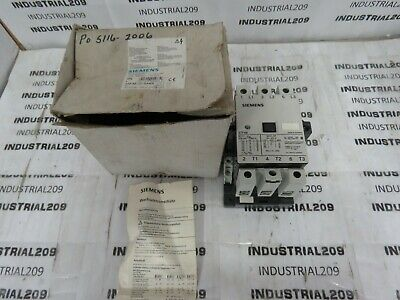 Siemens Contactor 3Tf48 22-0Ak6 100A 600Vac 30 Hp New In Box
