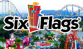 (1) ONE 2019 Gold Season Pass to Any Six Flags Park / Free Season Parking