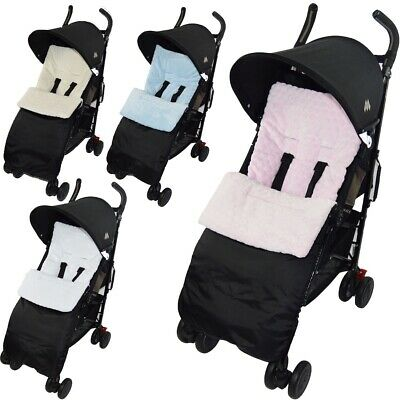 Marshmallow Pushchair Footmuff / Cosy Toes Compatible with Maclaren